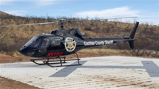Cochise County Sheriff's Office gets new helicopter