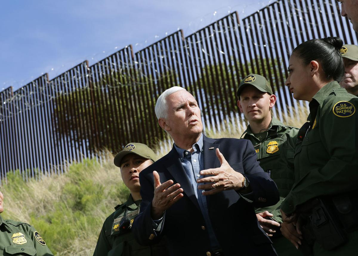 Pence Border Security