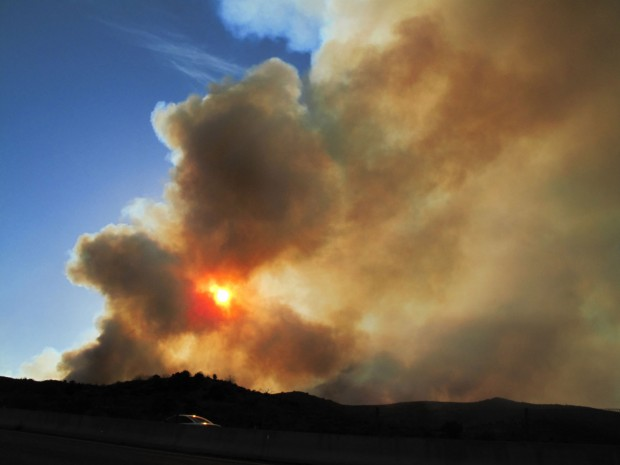 Human cause cited in big 2011 wildfires