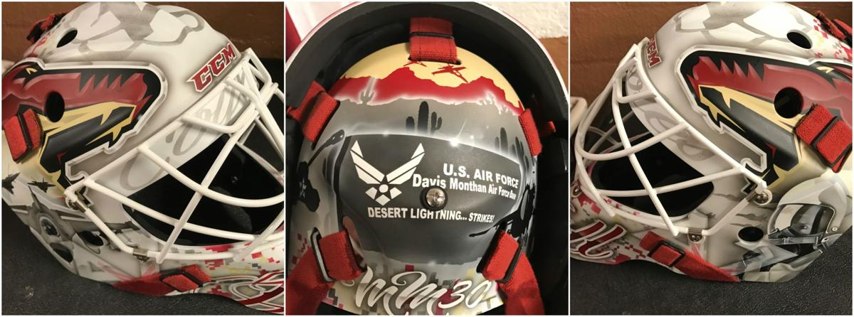 Adin Hill's goalie mask