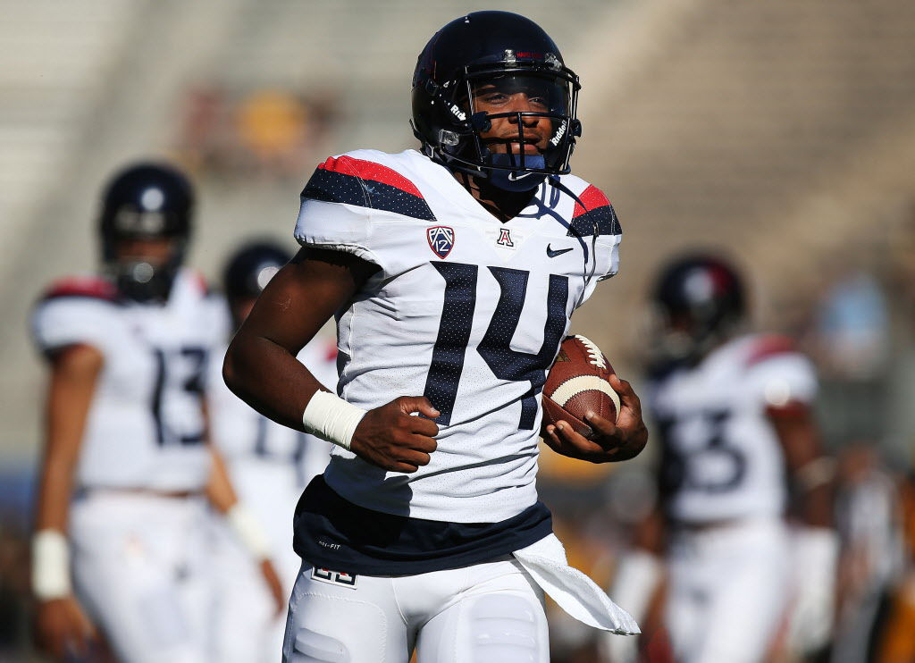 Arizona Wildcats vs. Arizona State Sun Devils in the 2017 Territorial Cup