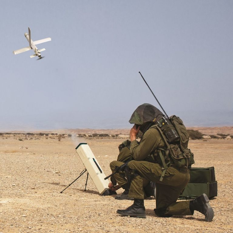 Raytheon teams up with Israeli firm on lethal drone