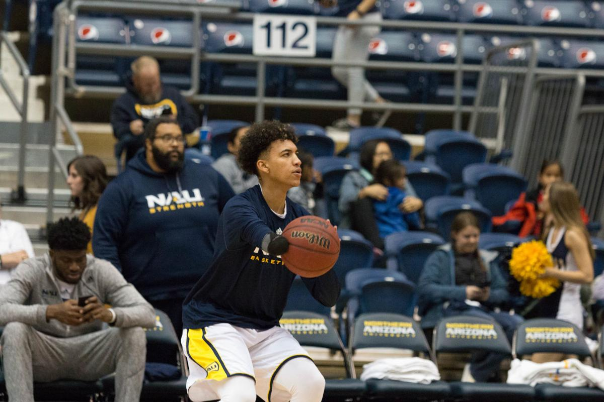 Omar Ndiaye Found Way To Nau With An Ist From Hard Work And Ex Cat A J Bramlett
