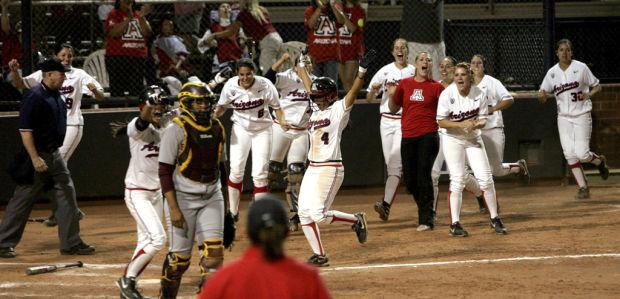 Softball: Arizona 10, Arizona State 9: Hallie-lujah! UA skid over