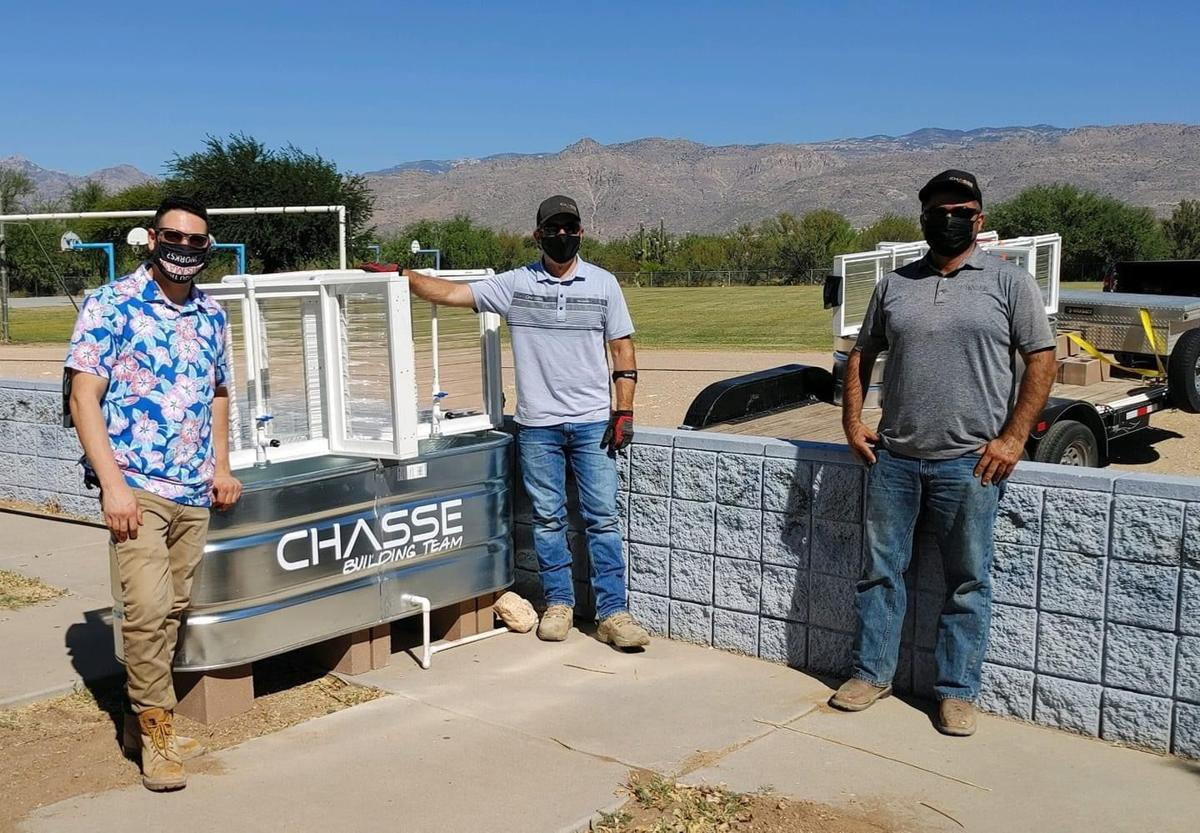 Chasse building team