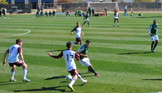 Soccer in Tucson DAVE ORD: Soccer fanatic attends 3 games in 1 day