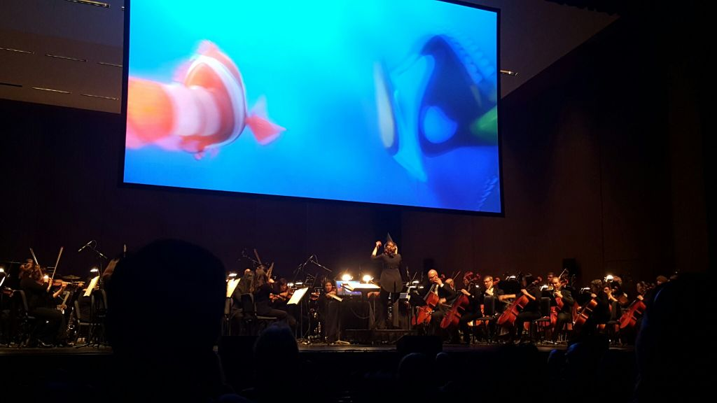 Finding Nemo at the Music Hall