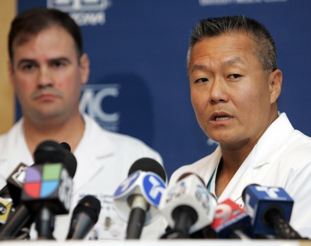 UMC surgeons talk about Giffords' condition