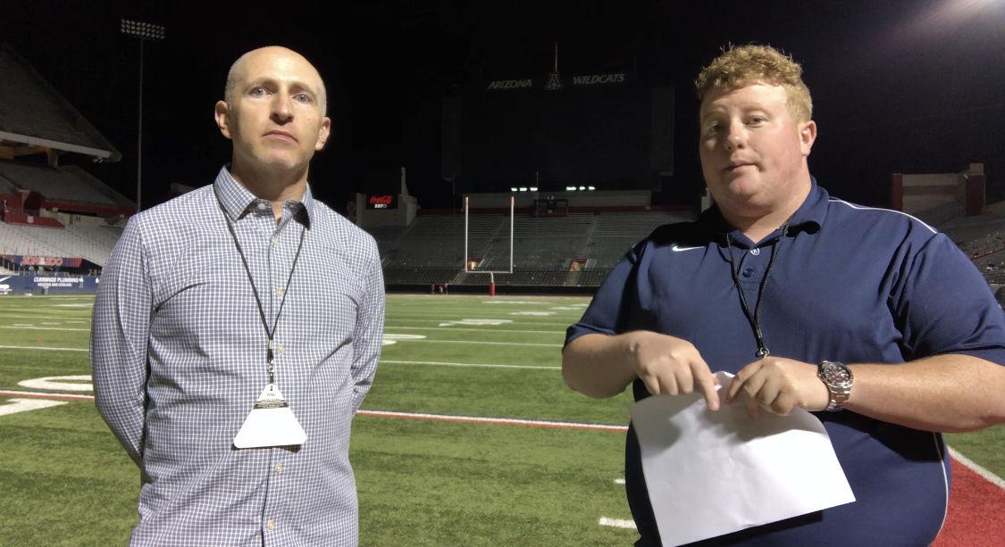 Justin Spears, Michael Lev Arizona Wildcats, Texas Tech