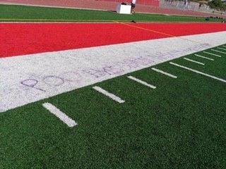 tucson high field vandalism