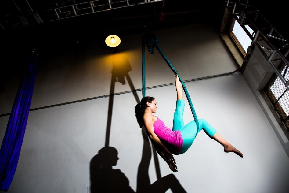 Mixed Level Aerial Swing