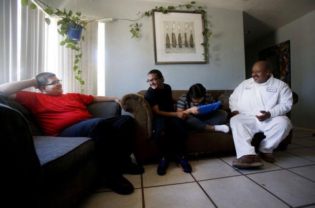 Nathan Ruiz and family