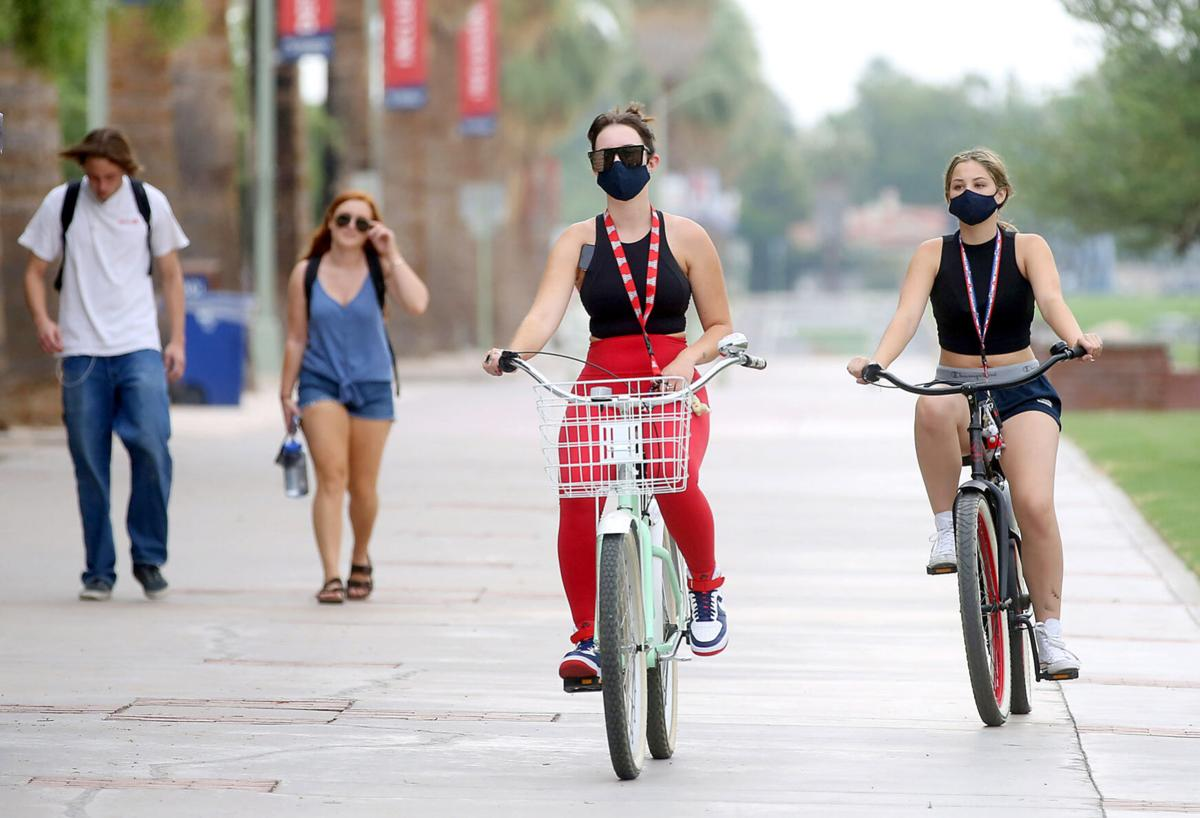 First day of classes at University of Arizona