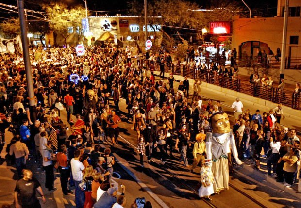 Tucson in 100 Objects — All Souls Procession puppets