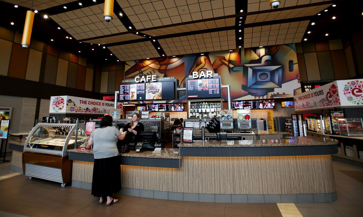 Alcohol for sale at movie theaters