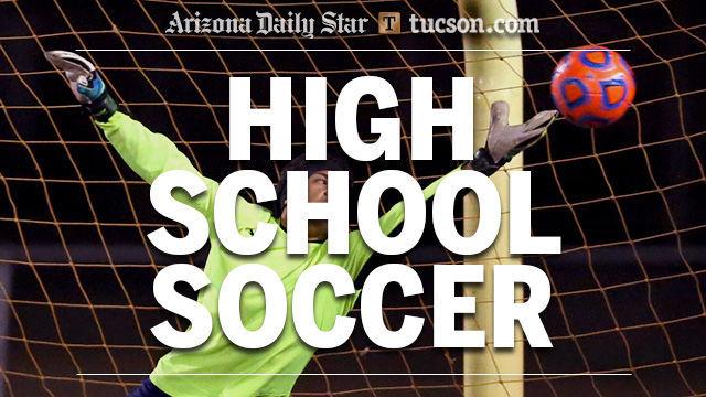 High school soccer logo — boys