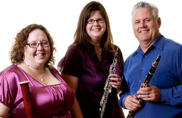 Zephyrus Trio to play at St. Philip's
