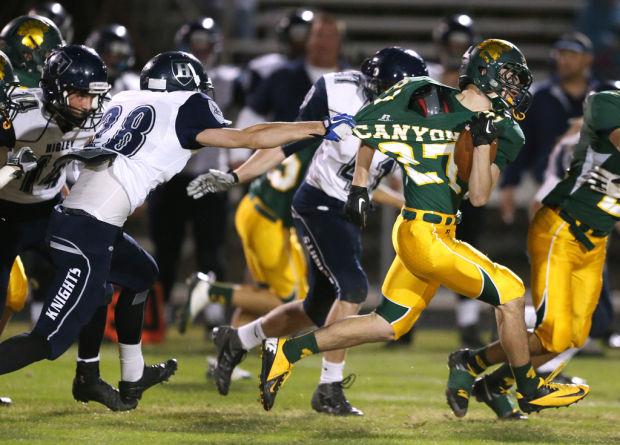 Gilbert Higley vs. CDO high school football