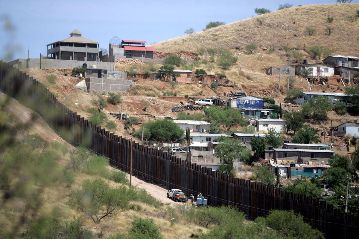 International border fence too high