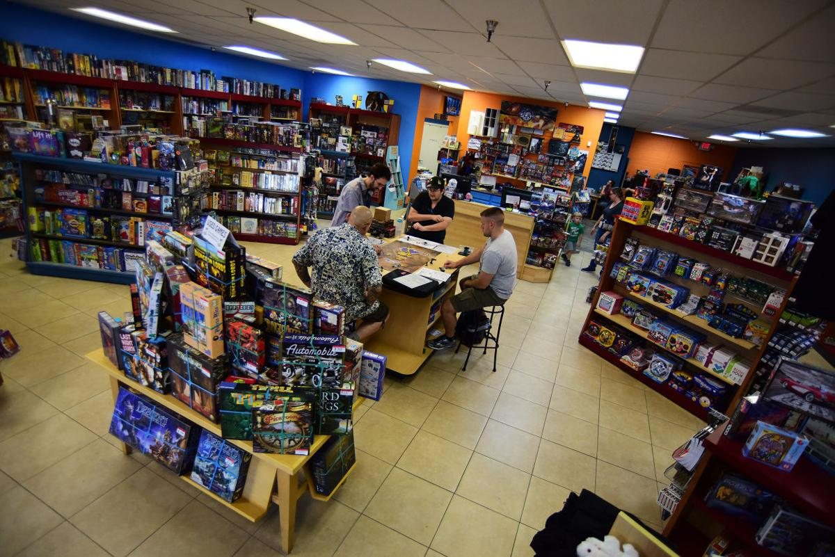 Board game players