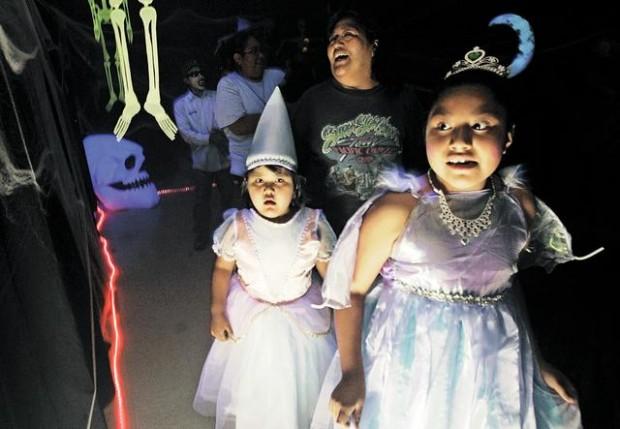 Mostly no-fear Halloween fun