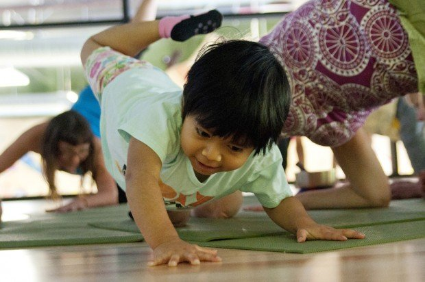 Studio offers yoga for younger set