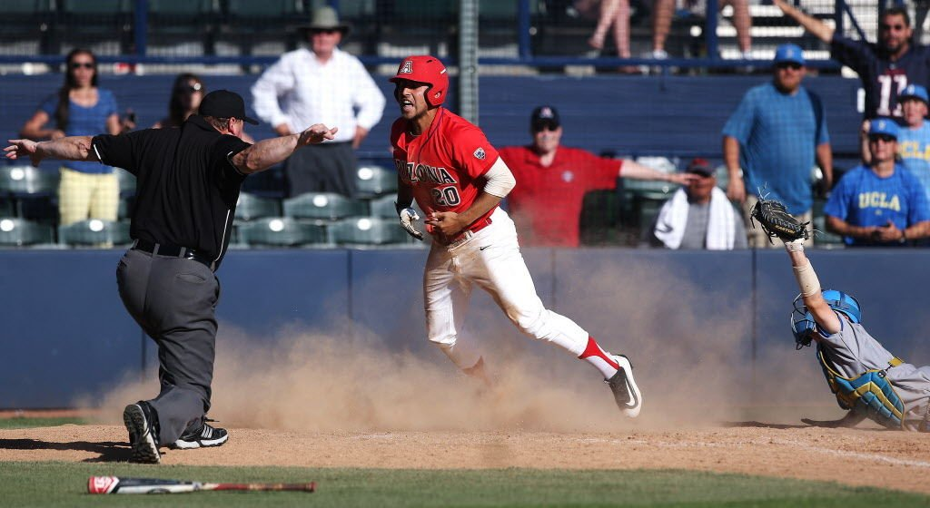 Arizona Wildcats vs UCLA college baseball