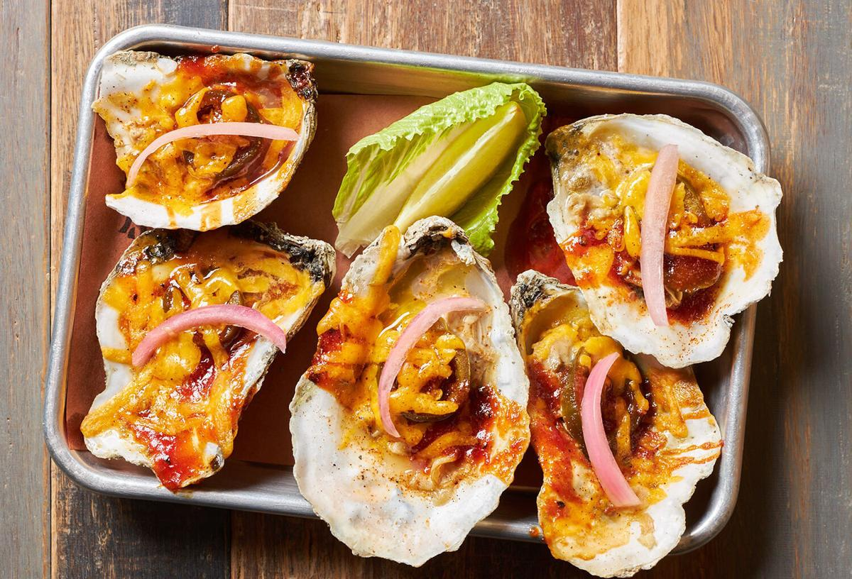 Kansas City-Style Grilled Oysters