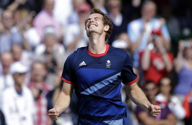 London Olympics: Tennis: Murray tops Federer, wins gold at raucous Wimbledon