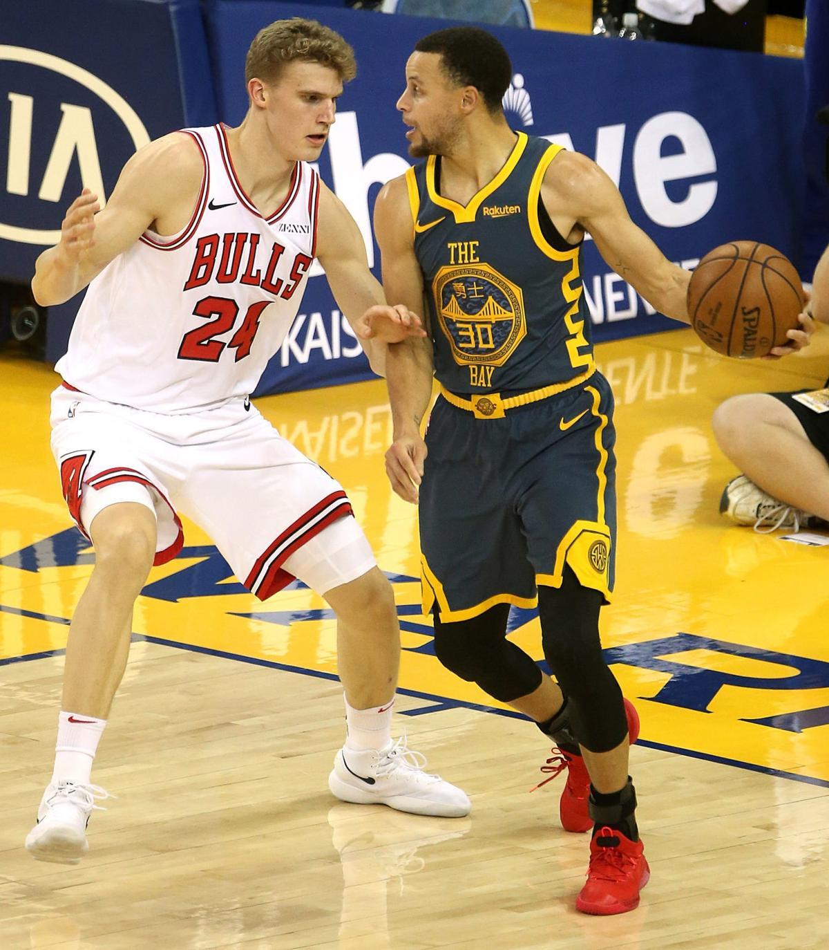 Golden State Warriors vs. Chicago Bulls NBA basketball (copy)
