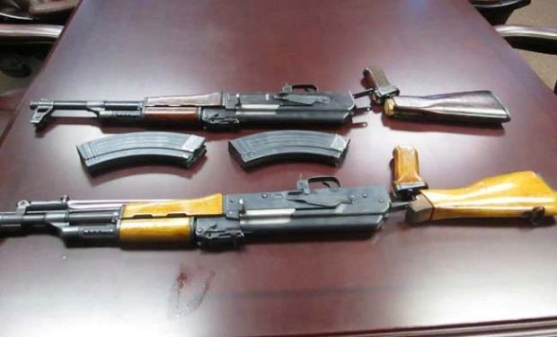 AK-47s seized at border
