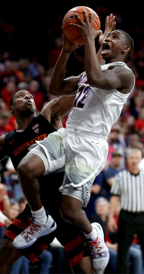 'Inspired' Wildcats play like well-oiled machine in win over Oregon State