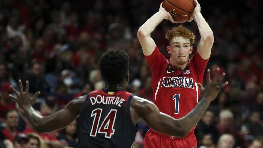Hansen's Sunday Notebook: UA star freshman Nico Mannion not short on athletic genes
