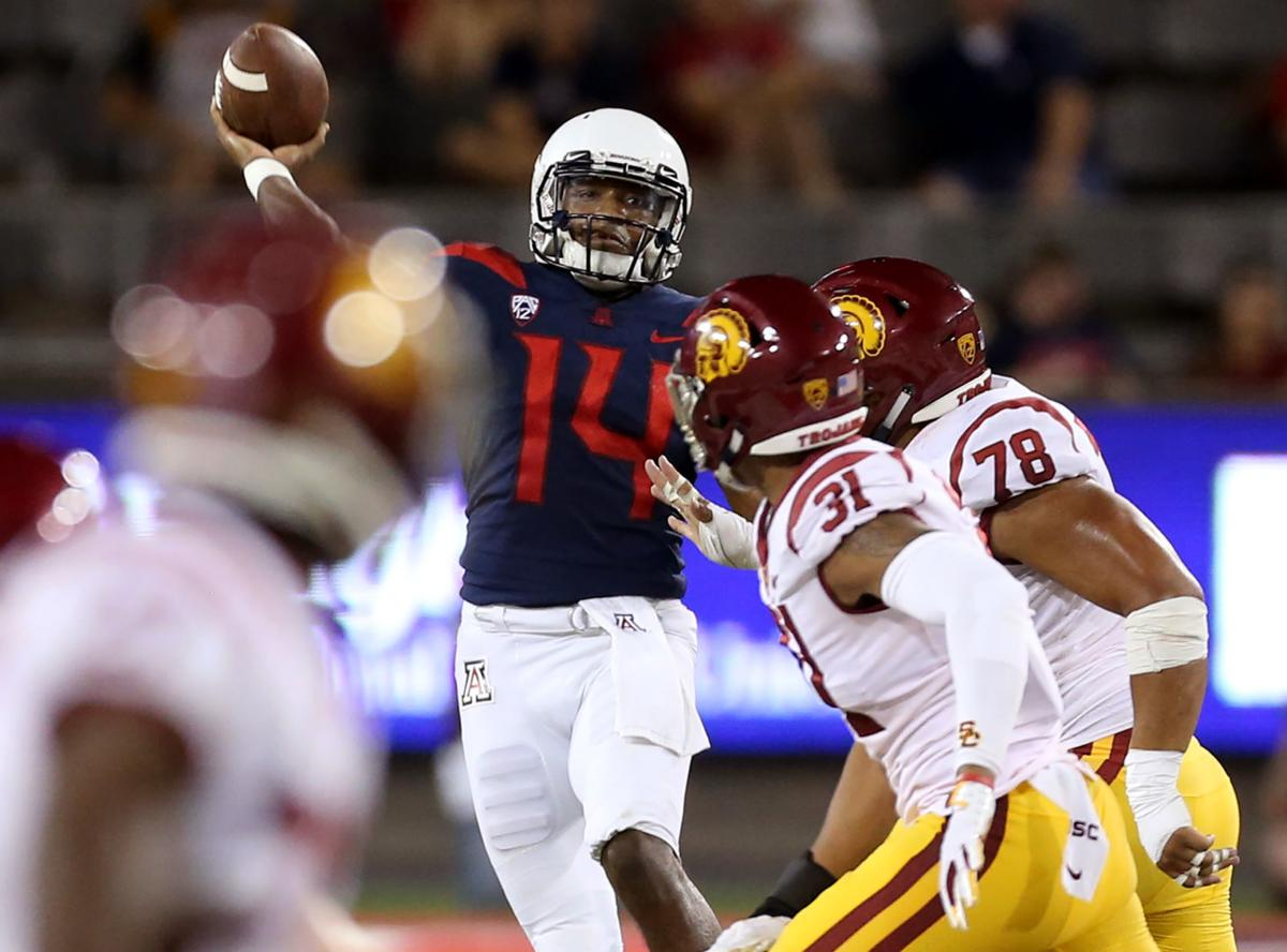 Uofa Football Score >> What To Watch For When The Arizona Wildcats Visit Usc