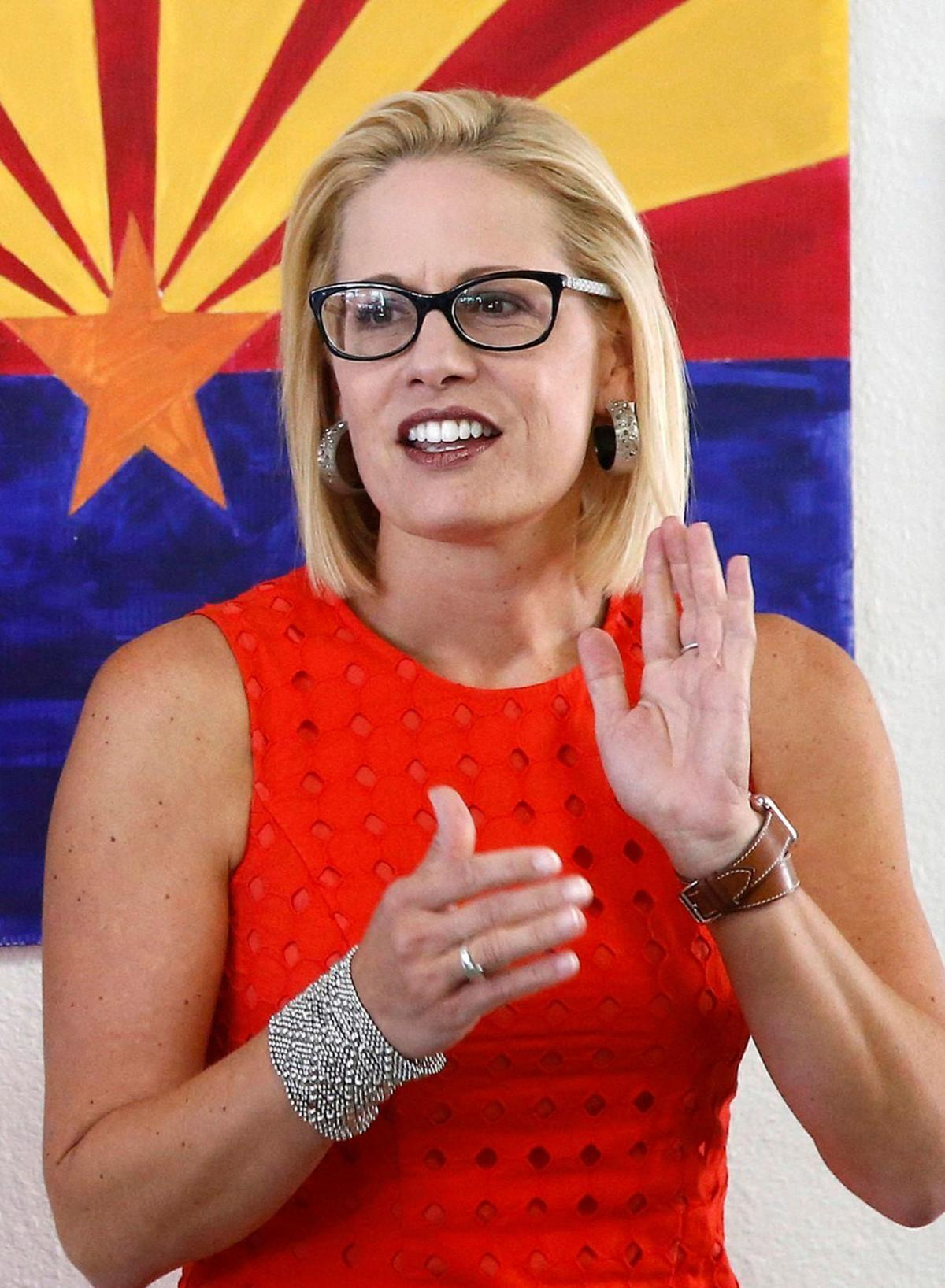 Sinema increases lead over McSally in race for US Senate seat