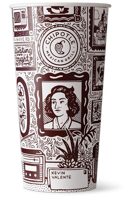 Tucson teen's memories illustrated on Chipotle cups
