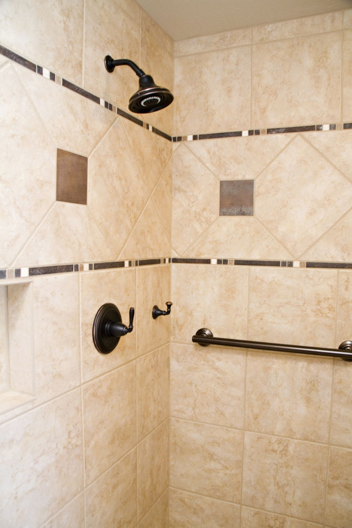 Can I install a grab bar in shower walls covered in cultured marble ...