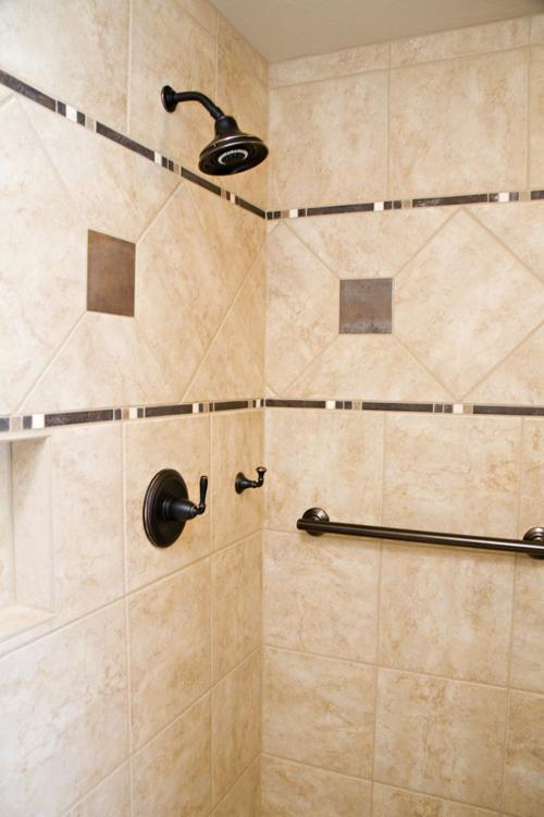 Can I install a grab bar in shower walls covered in cultured ...