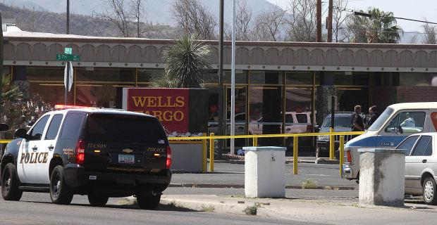 Wells Fargo bank robbery attempt