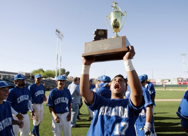 Baseball 4A-II state championship: Blank fires Catalina to 1st crown since '67