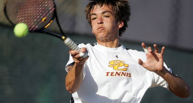 BOYS TENNIS: Lancer not done improving