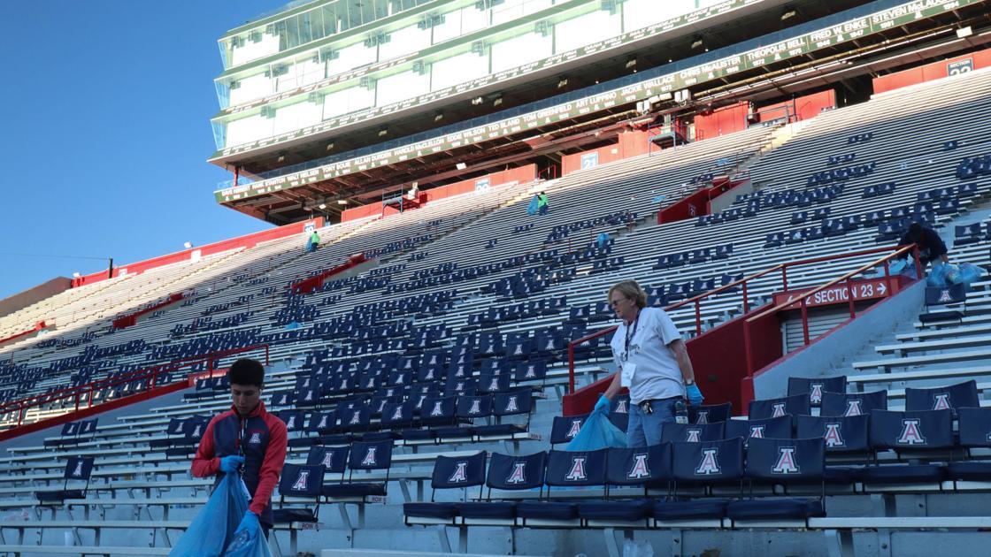 University of Arizona working toward zero-waste football games