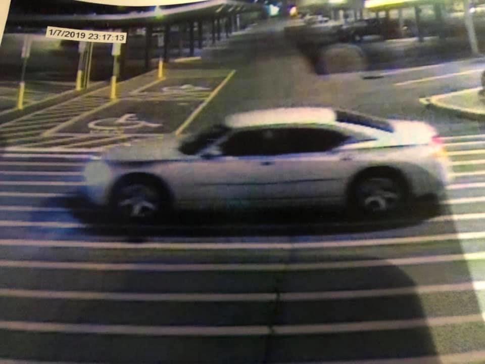 Suspected car