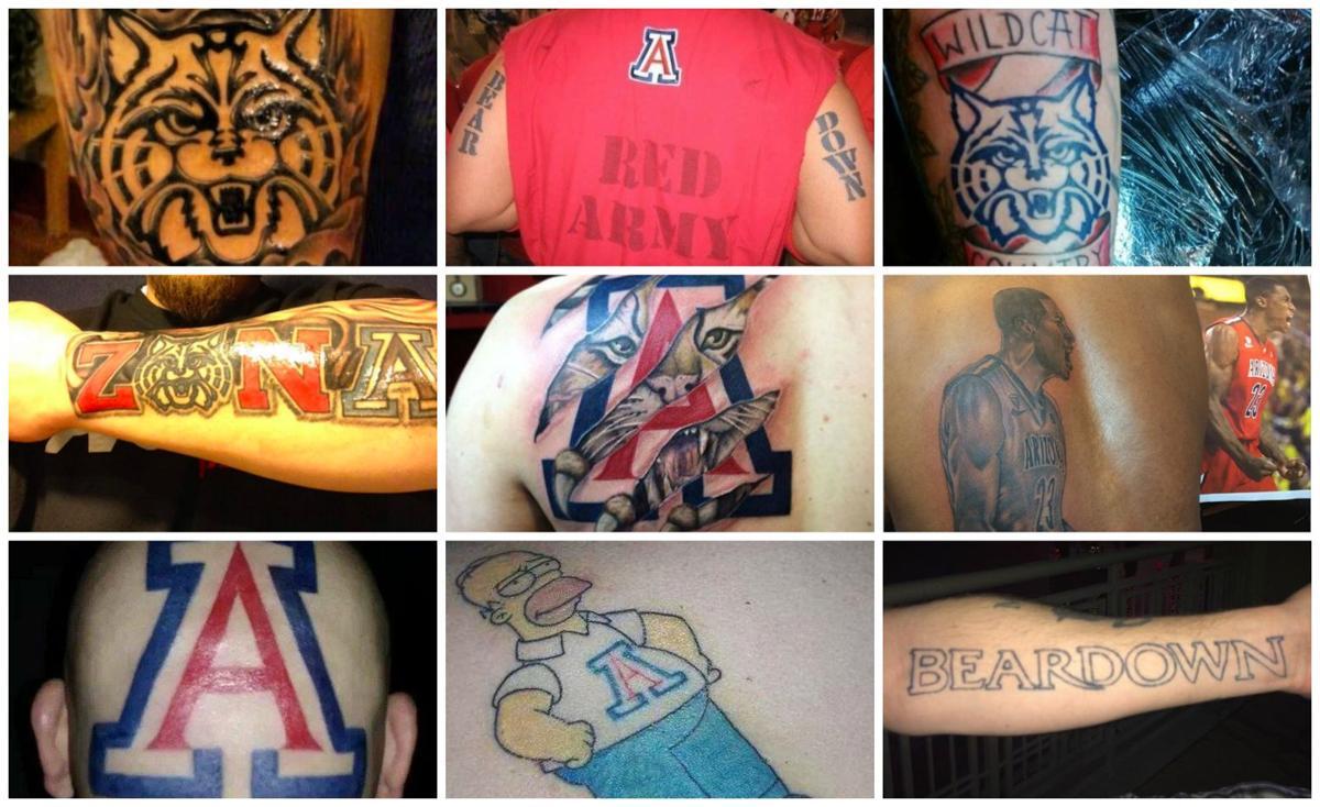 UA fan tattoos