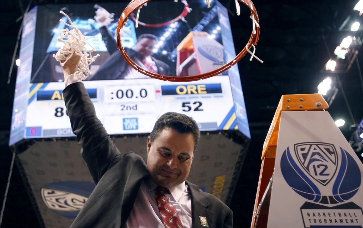 Arizona basketball coach Sean Miller