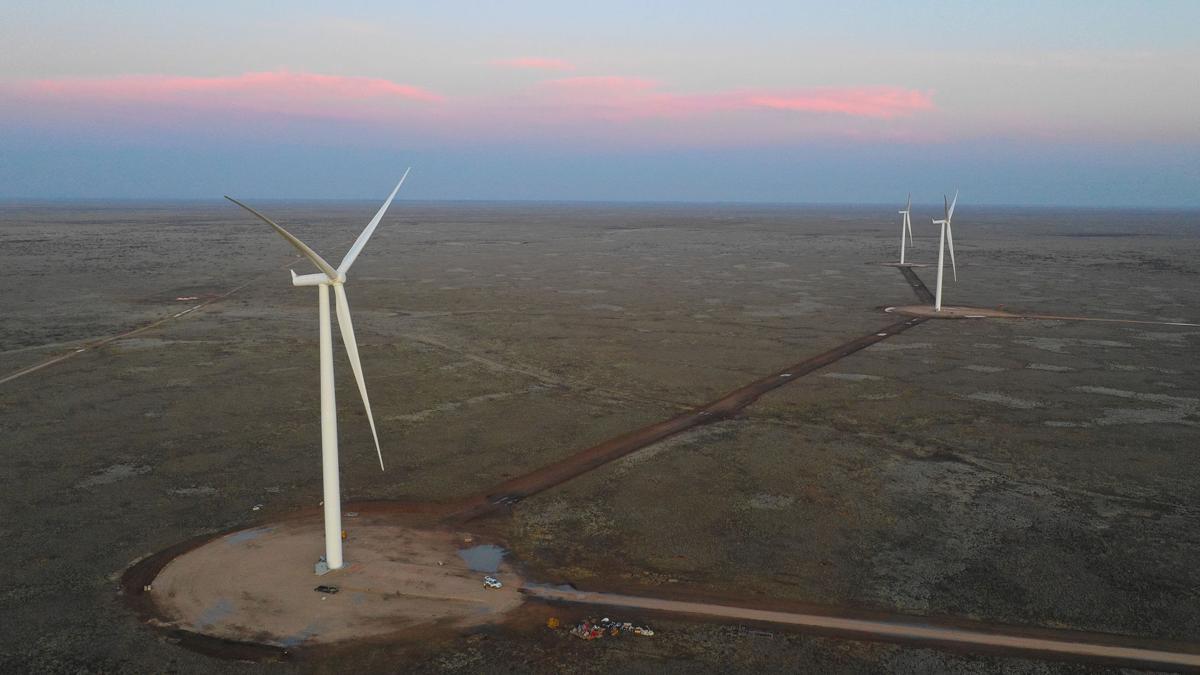 Oso Grande Wind Farm, TEP
