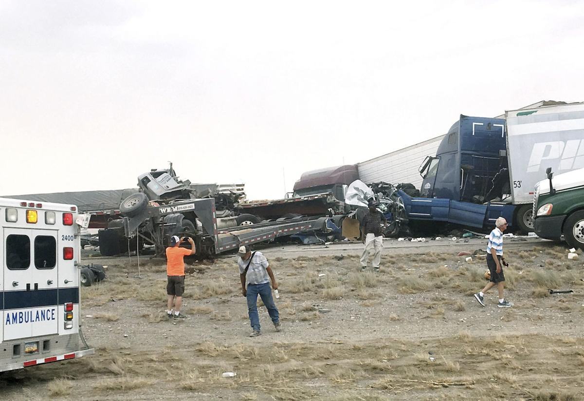 Dust Storm Deadly Pileup