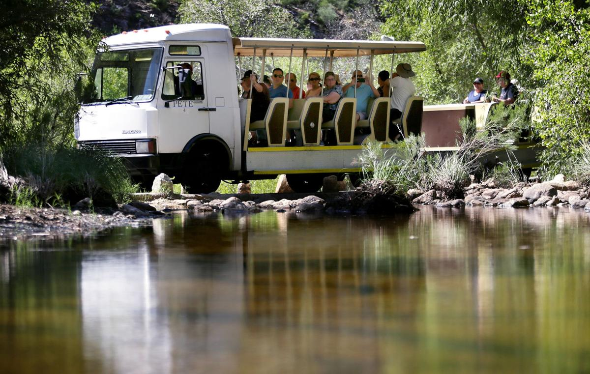 Sabino Canyon Tours tram