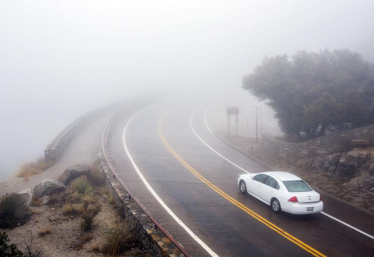 Stunning photos of Tucson fog