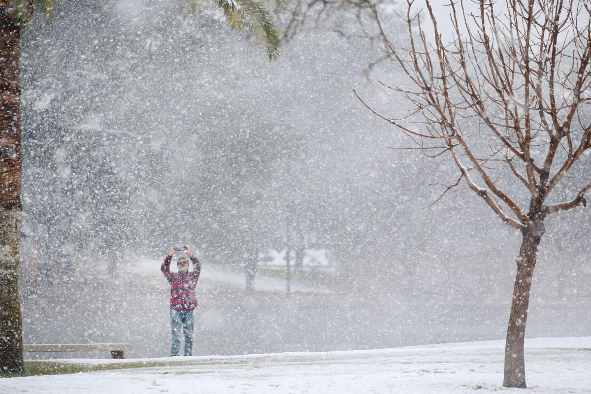 it snowed on mount lemmon today 75 photos of snowfall in the tucson area from earlier this year local news tucson com it snowed on mount lemmon today 75